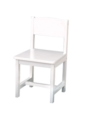 Aspen Single Chair - White - KidKraft