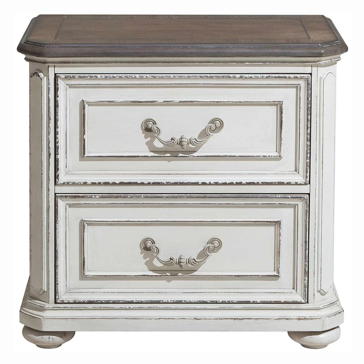 Willowick Night Stand - Antique White