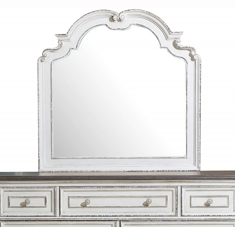 Willowick Mirror - Antique White