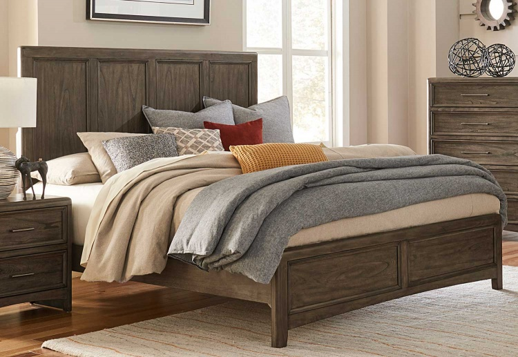 Seldovia Bed - Brown Gray