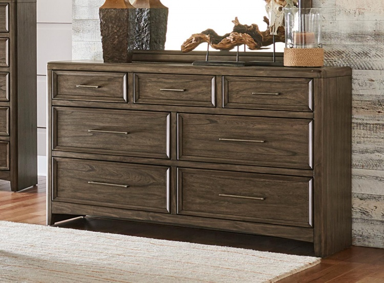 Seldovia Dresser - Brown Gray