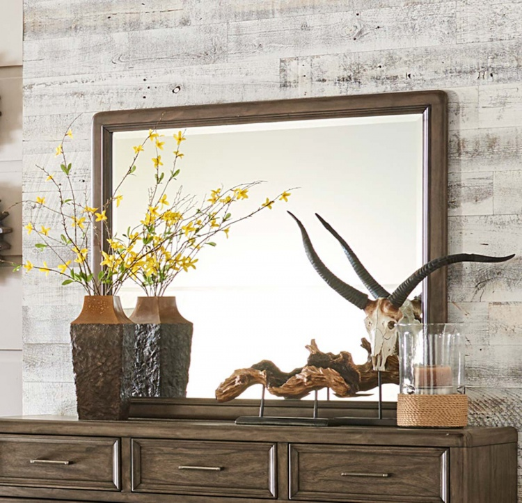 Seldovia Mirror - Brown Gray