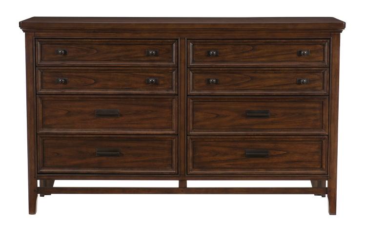Frazier Park Dresser - Brown Cherry