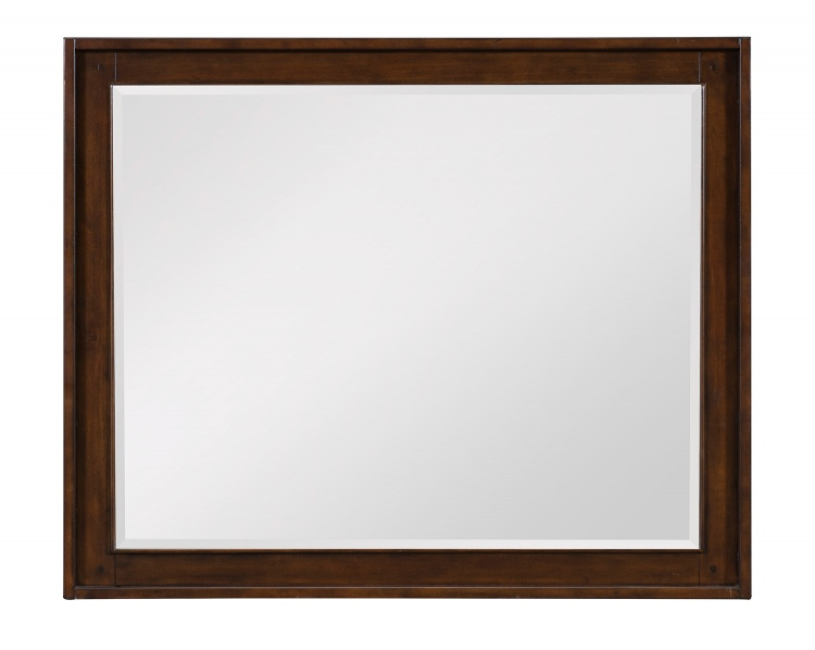 Frazier Park Mirror - Brown Cherry