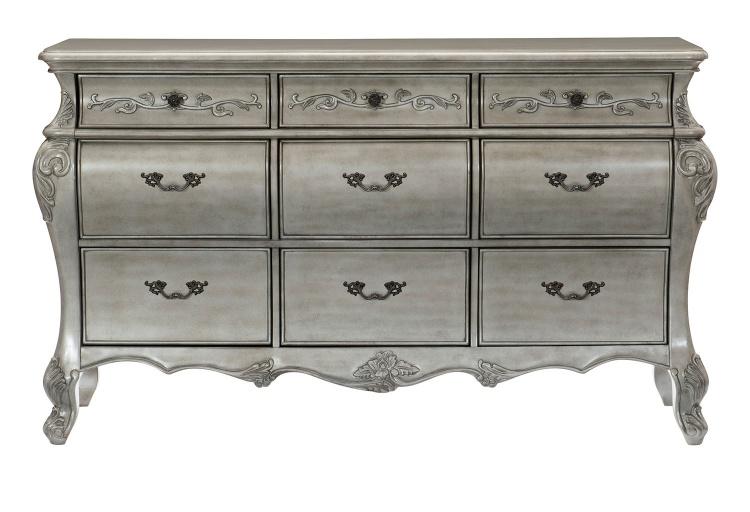 Brigette Dresser - Silver-Gray