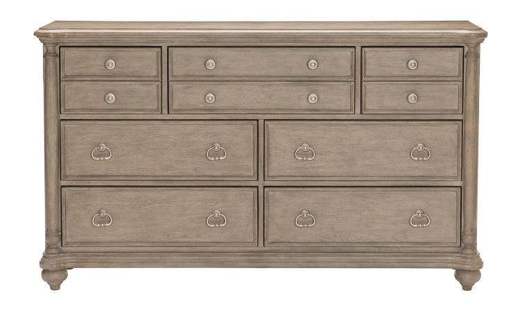 Grayling Downs Dresser - Driftwood Gray