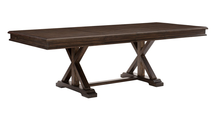 Cardano Dining Table - Driftwood Charcoal