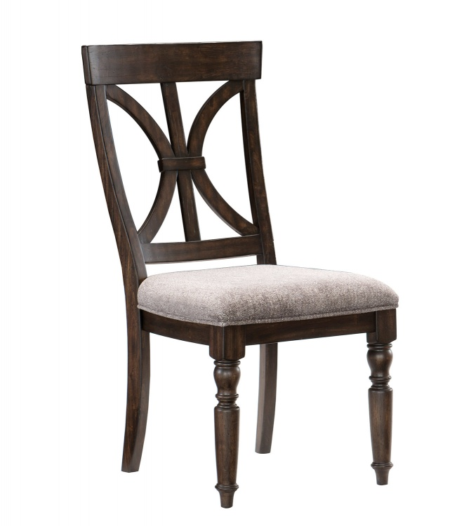 Cardano Side Chair - Driftwood Charcoal