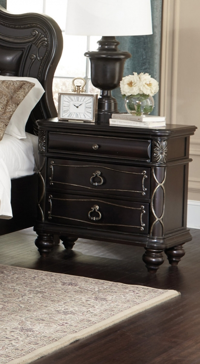 Abutilon Night Stand - Dark Espresso