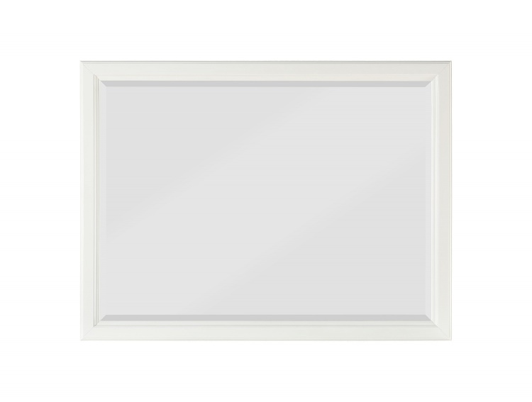 Cotterill Mirror - White Finish over Birch Veneer