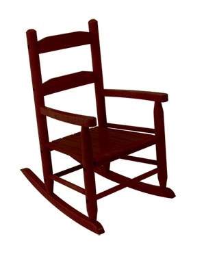 2-Slat Rocker - Cherry