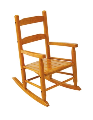 2-Slat Rocking Chair - Honey