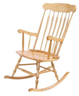 Adult Rocking Chair-Natural