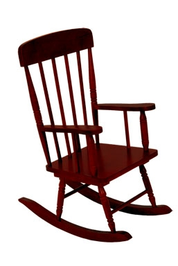 Spindle Rocking Chair - Cherry