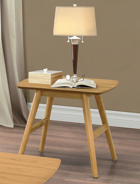 Anika Sofa Table - Light Ash