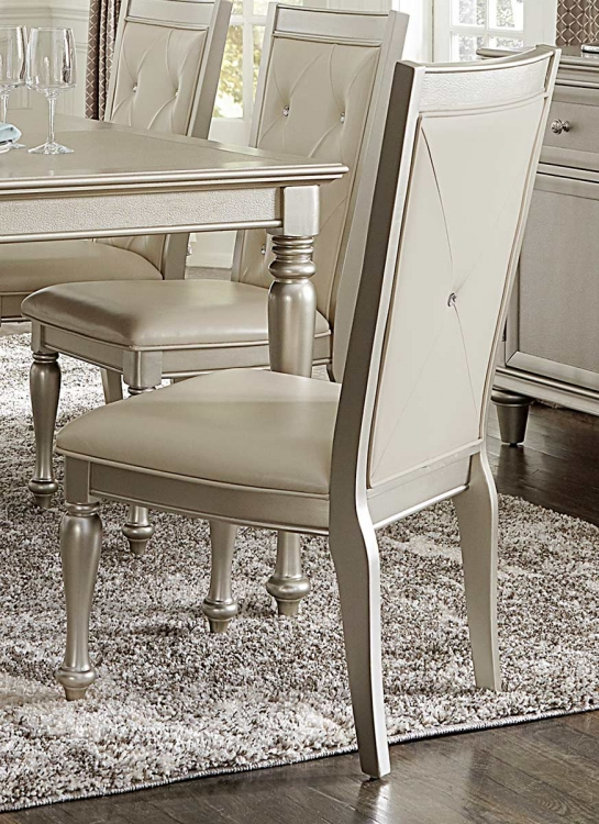 Celandine Side Chair - Silver