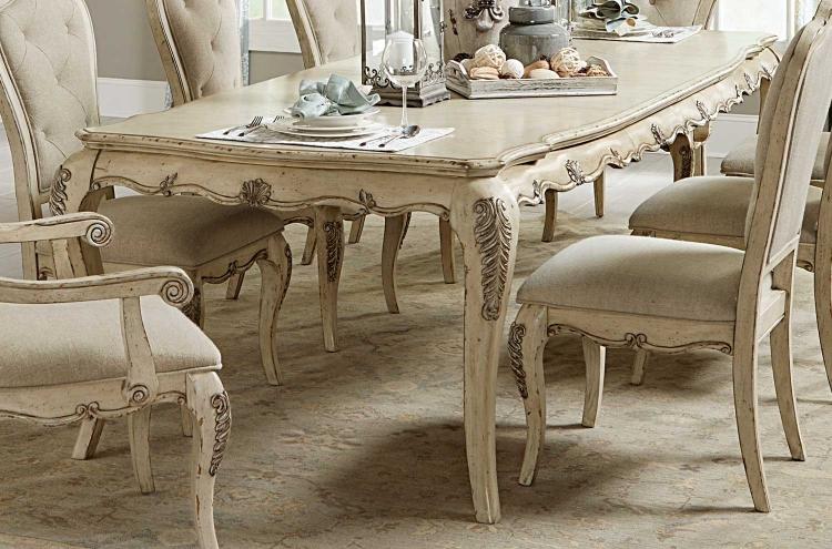 Elsmere Dining Table - Antique Grey