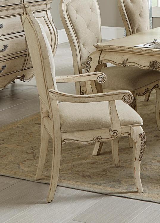 Elsmere Arm Chair - Antique Grey