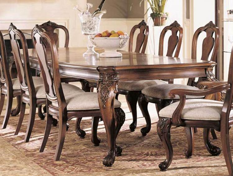 Grand Revival Dark Leg Table