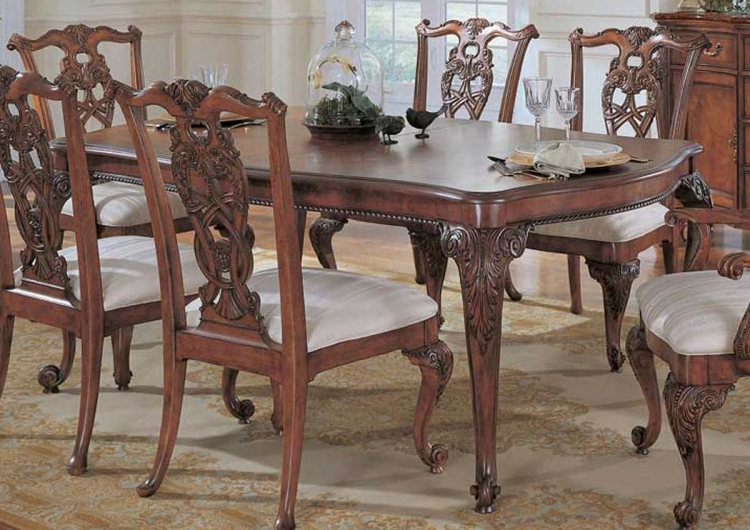American Drew Wentworth Manor Leg Table