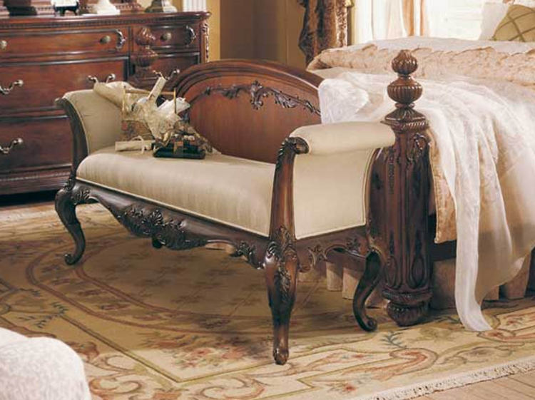 Jessica McClintock Home Romance Bed Bench