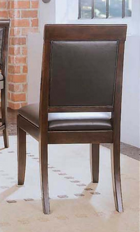 Tribecca Upholstered Leather Side Chair