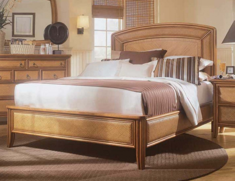 Antigua Low Profile Bed