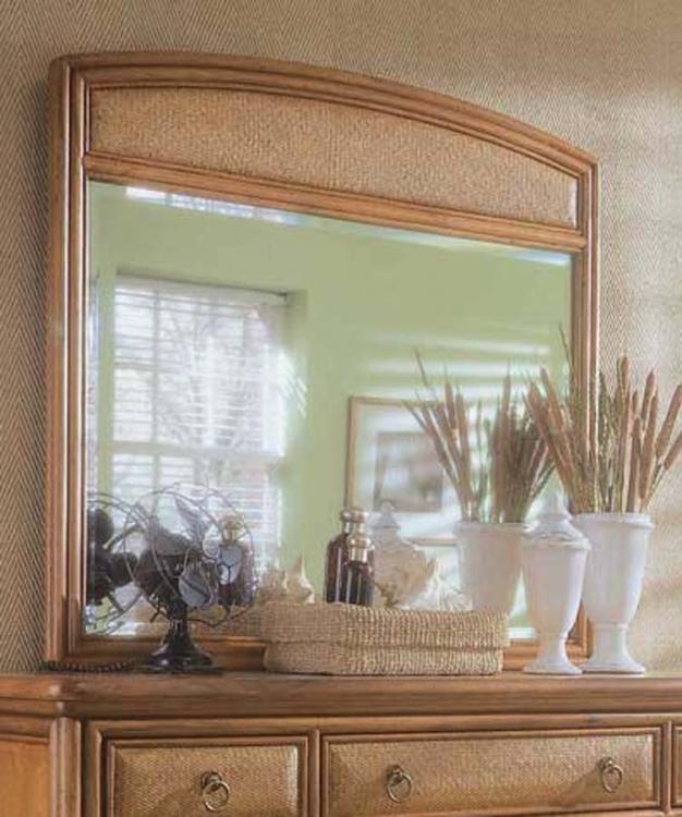 Antigua Landscape Mirror