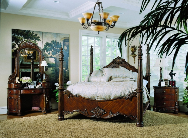 Edwardian Poster Bedroom Collection-Pulaski