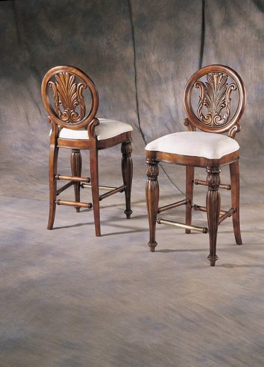 Edwardian Bar Stool-Pulaski