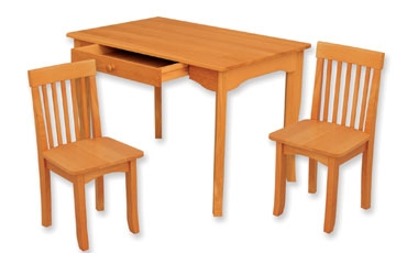 Avalon Table and Chair Set - Honey-KidKraft