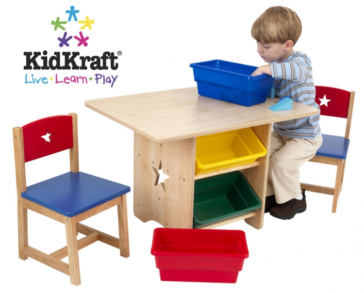 Star Table and Chair Set-KidKraft