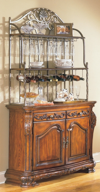 Homelegance Hibiscus Bakers Rack