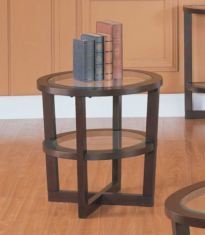 Vista End Table - Homelegance