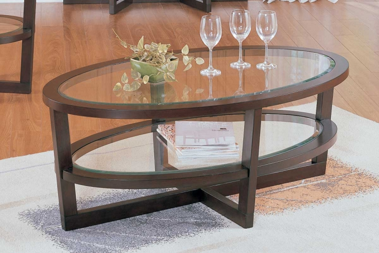 Vista Cocktail Table - Homelegance