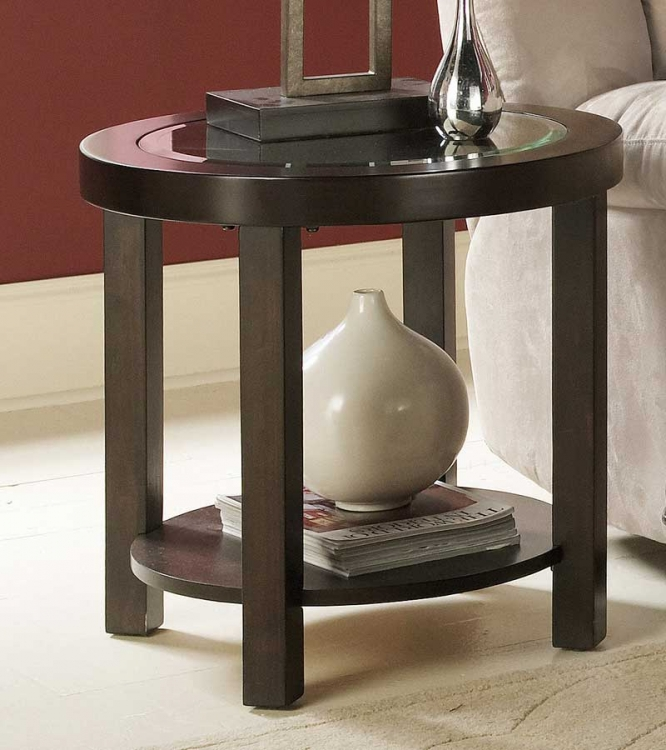 Brussel Round End Table