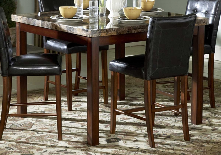 Hutchinson Counter Height Dining Table - Homelegance