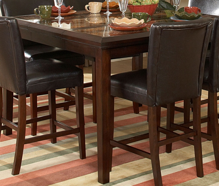 Belvedere Counter Height Dining Table - Homelegance