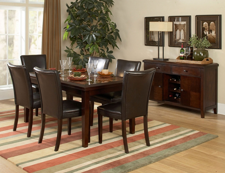 Belvedere 60In Dining Collection - Homelegance