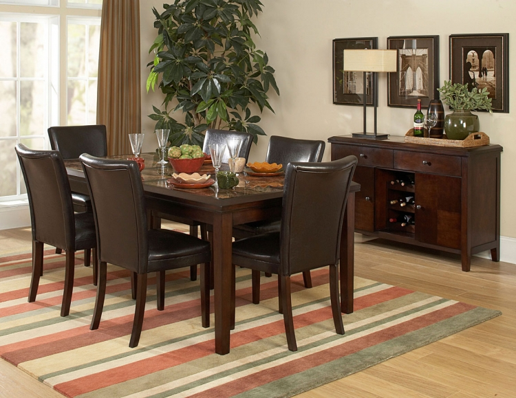 Belvedere 78In Dining Collection - Homelegance