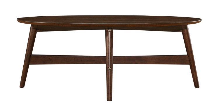 Lhasa Cocktail/Coffee Table - Warm Walnut