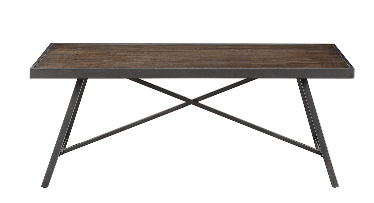 Damsel 3-Piece Cocktail/Coffee Tables - Dark Burnish