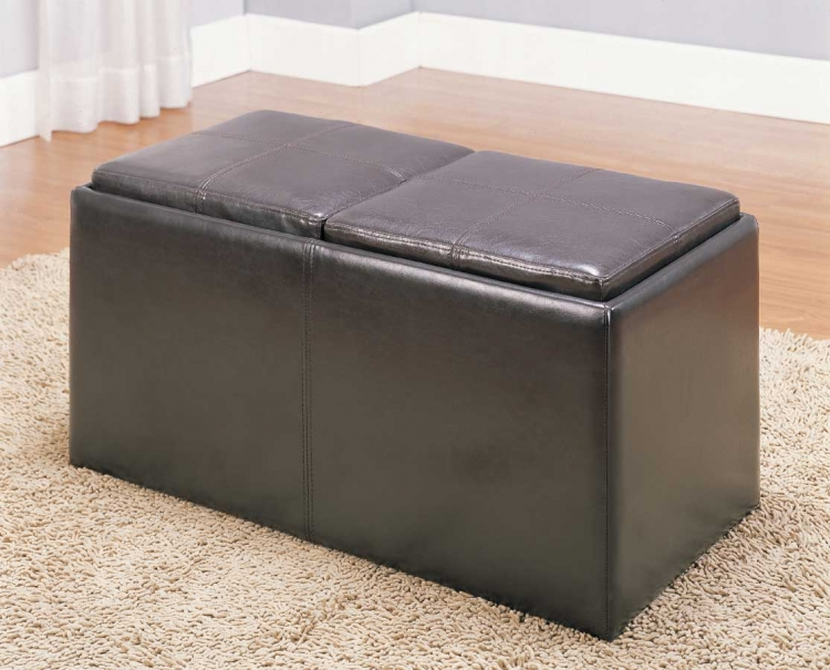 Claire Storage Bench - Homelegance