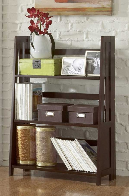 Britanica Folding Bookcase-Homelegance