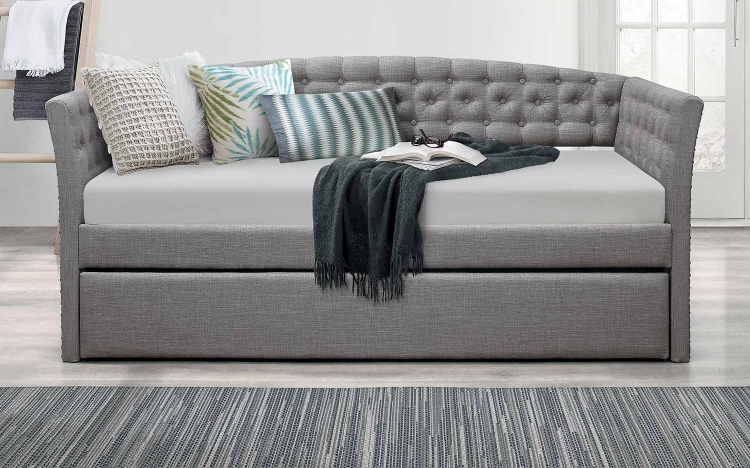 Norwood Daybed with Trundle - Gray