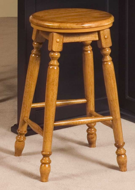 Vineyard Swivel Bar Stool 24H