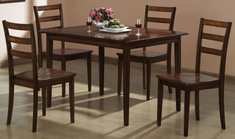 Ramsey 5-Piece Pack Dinette - Homelegance