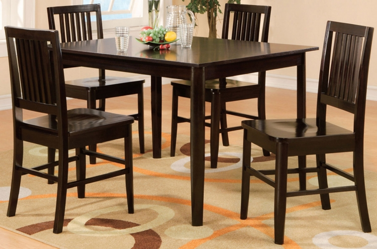 Curtis 5-Piece Pack Dinette - Homelegance