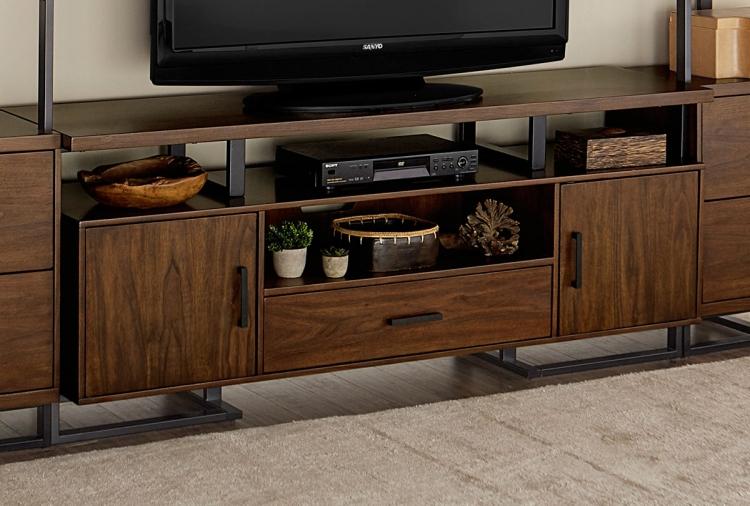 Sedley 68-inch TV Stand - Walnut Veneer