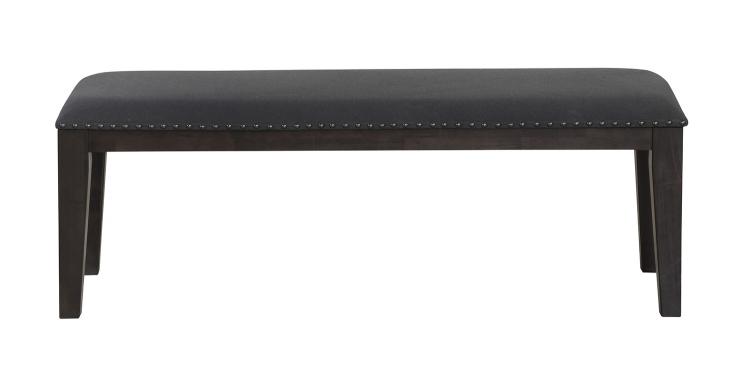Larchmont Bench - Charcoal